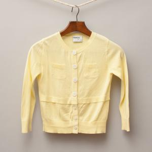 Ouch Pale Yellow Cardigan