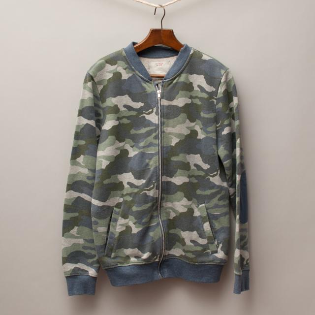 Zara Camouflage Jumper