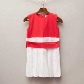 Rosenbaum Red & White Dress