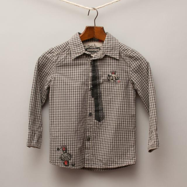 Catamini Check Shirt