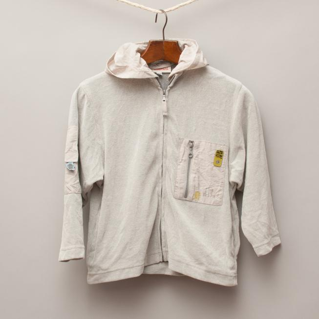 Catamini Grey Hooded Jumper
