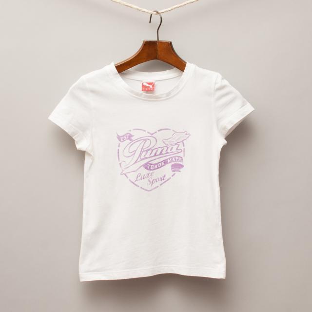 Puma White T-Shirt