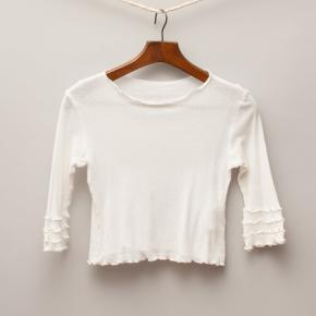 RTB White Long Sleeve Top