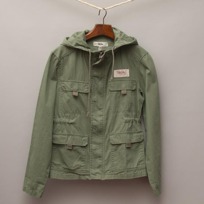 Mossimo Khaki Military Jacket