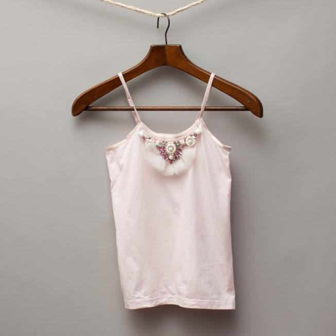 Tutu du Monde Light Pink Singlet Top
