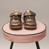 Primigi Metallic Leather Shoes