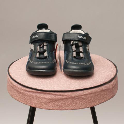 Primigi Blue Leather Shoes