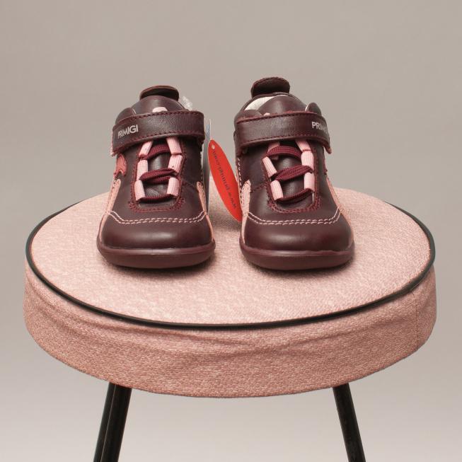 Primigi Maroon Leather Shoes