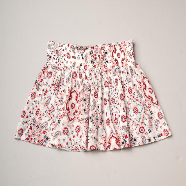 Country Road Paisley Skirt