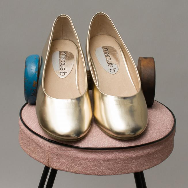 Marcus B Gold Shoes