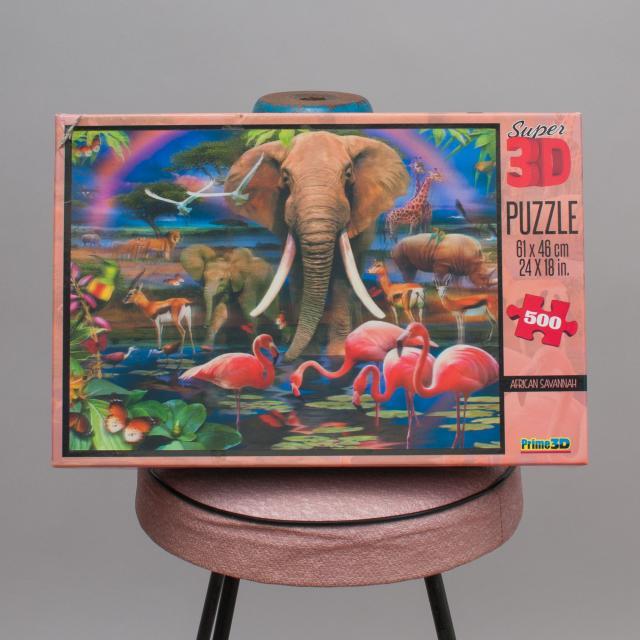 Super 3D Puzzle - African Savannah