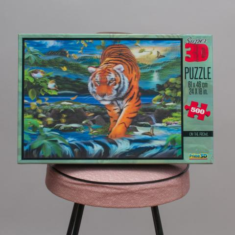 Super 3D Puzzle - On The Prowl