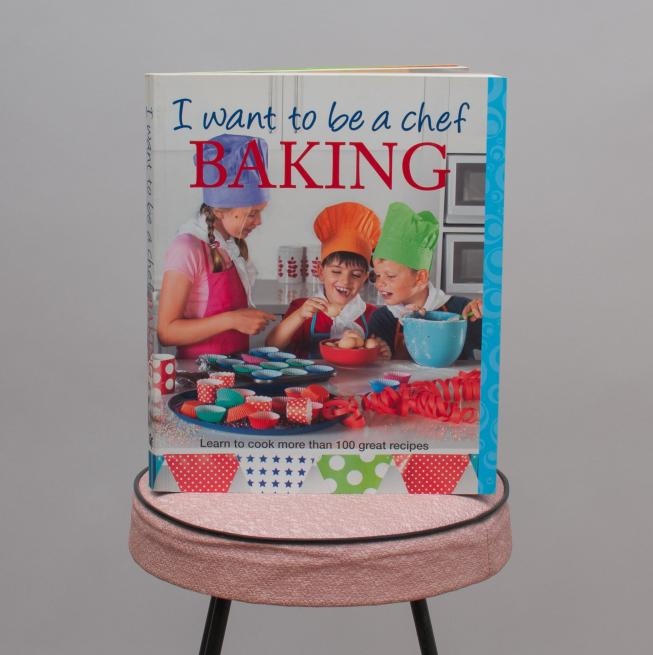 I Want To Be A Chef - Baking Book