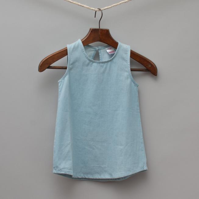 Rhubarb Blue Dress