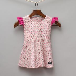 Ponz Pink Floral Dress