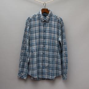Saba Blue Checked Shirt