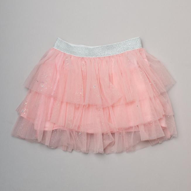 David Jones Pink Tulle Skirt