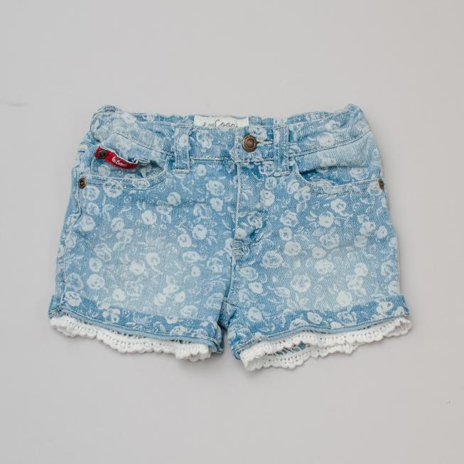 Lee Cooper Detailed Denim Shorts