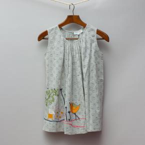 Megan Park Grey Floral Dress