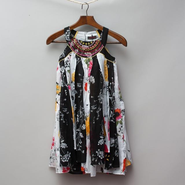 Catamini Multi Pattern Dress