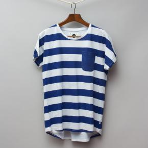 Sudo Blue & White Striped T-Shirt