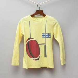 Mini Boden Yellow Long Sleeve Top