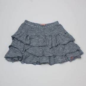Petit Bateau Striped Ruffle Skirt