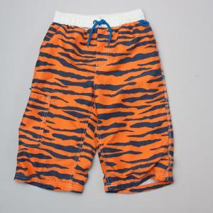 Mini Boden Tiger Board Shorts