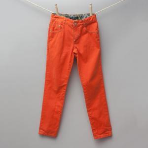 Mini Boden Orange Jeans