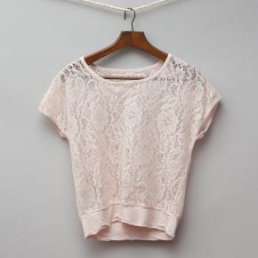 Pink Lace T-Shirt