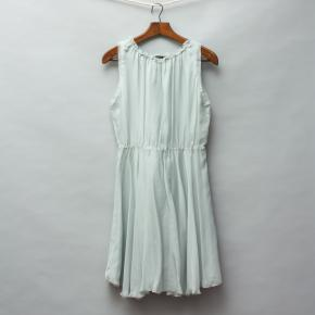 Pale Cloud Silk Dress