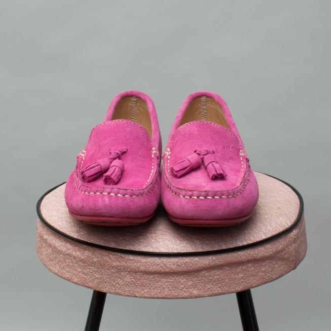 W.A.G Pink Loafers