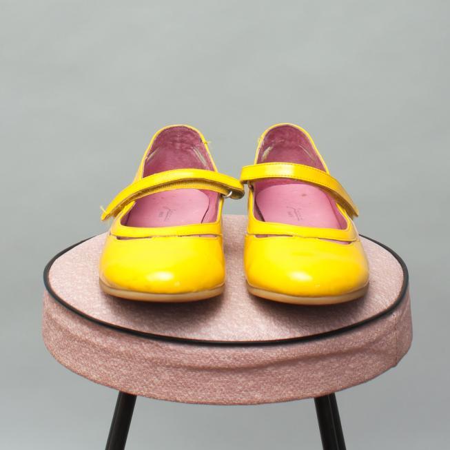Jacadi Yellow Shoes