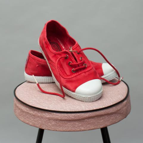 Chipie Red Lace Ups