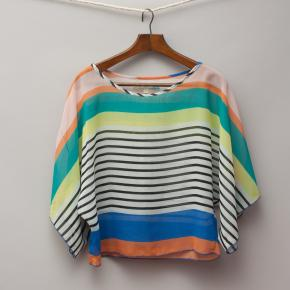 Vintage Havana Sheer Stripe Top
