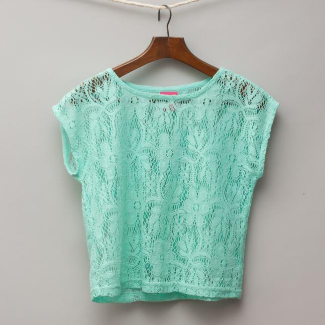 Wave Zone Lace Top