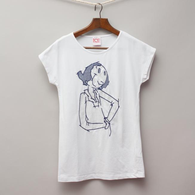 Iceberg White T-Shirt
