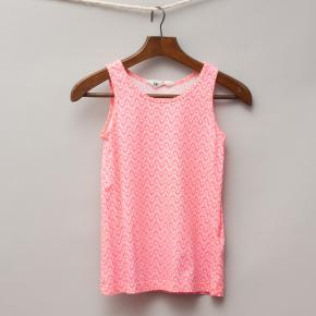 H&M Pink Patterned Singlet
