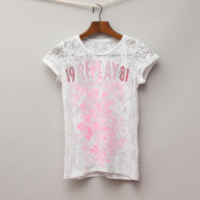 Replay Sheer T-Shirt