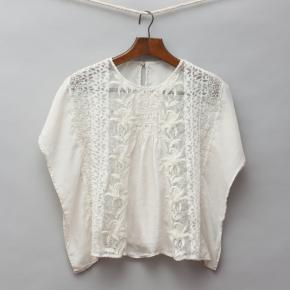 Cream Silk Blouse