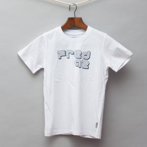 Fred Bare White T-Shirt