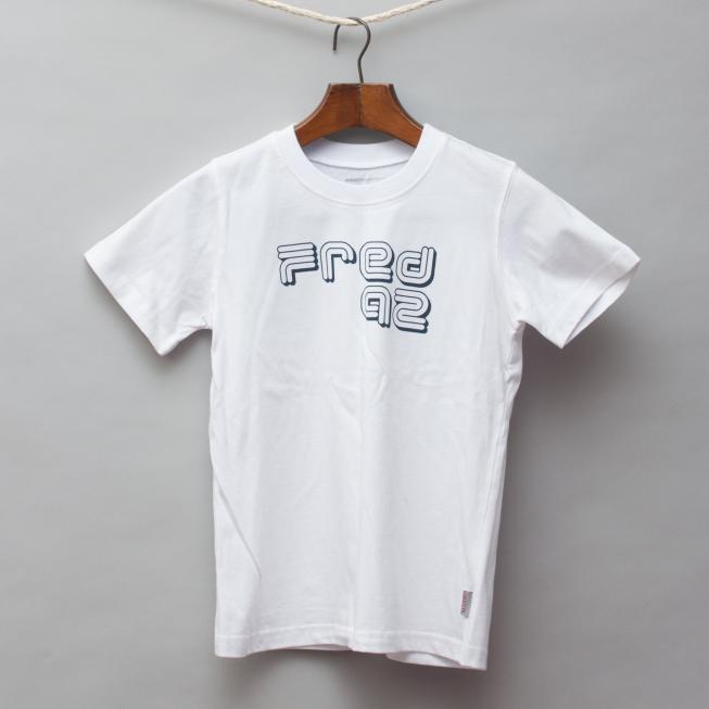 Fred Bare White T-Shirt