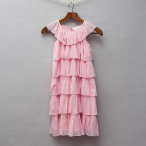 Megan Park Tulle Ruffle Dress
