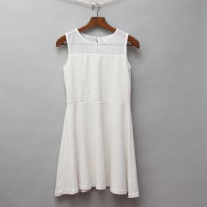 Origami White Dress