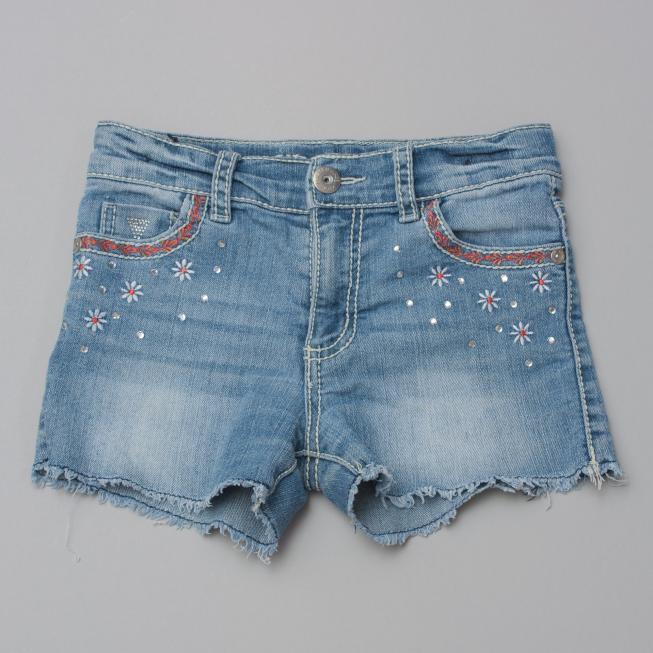 Guess Embellished Denim Shorts