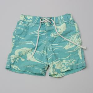 Country Road Green Board Shorts