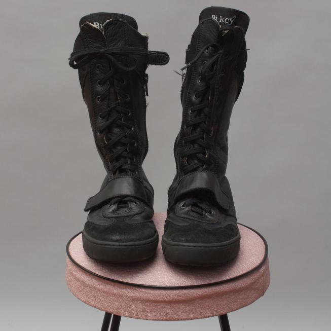 Bi Key Biker Boots