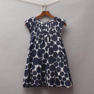 One Red Fly Polka Dot Dress