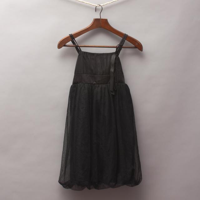 Junior Zone Black Party Dress