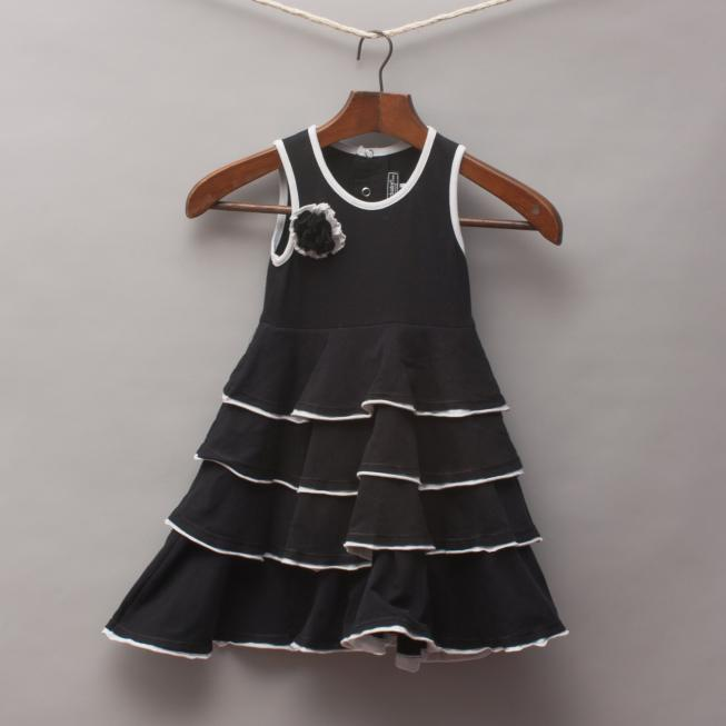 Rock Your Baby Black Ruffle Dress